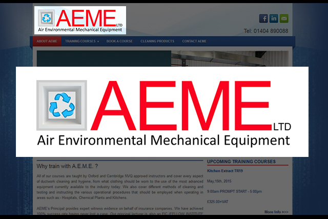 Aeme logo design